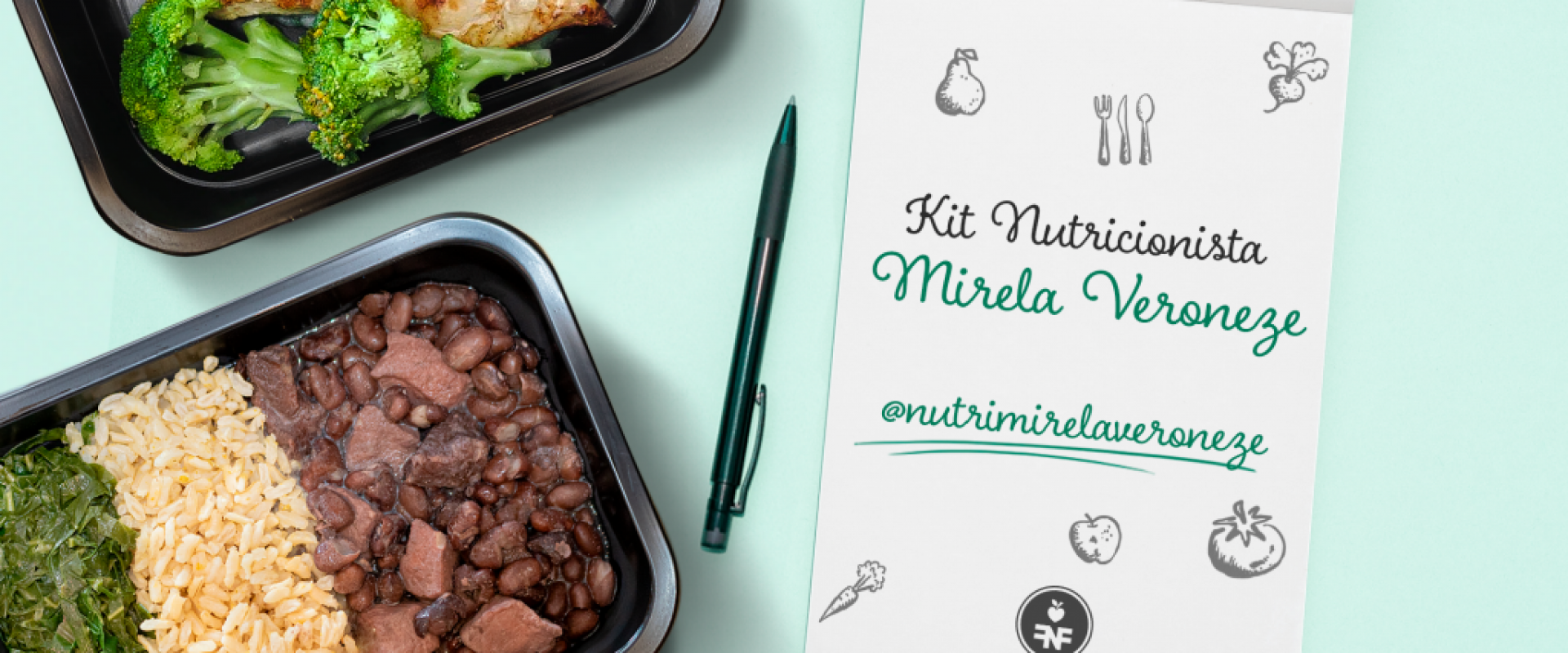 Novidade: kit Nutricionista Mirela Veroneze